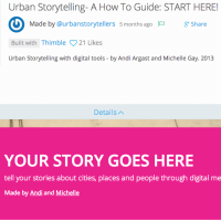 Digital Storytelling tools worth looking at (1)