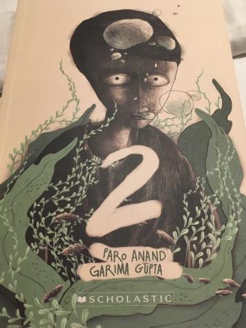 A dual author dual illustrator graphic novel