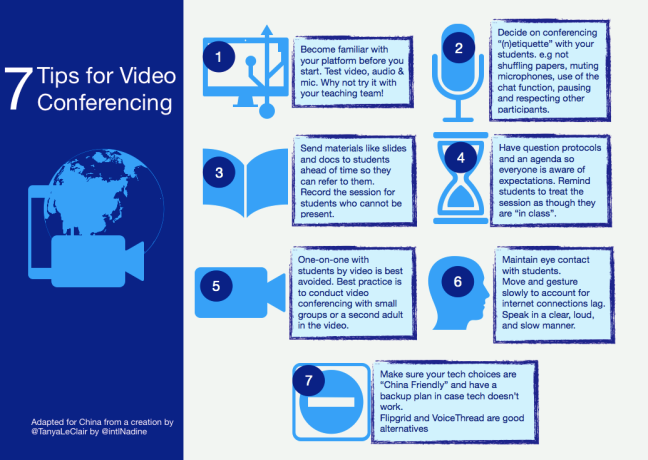 7 tips for video conferencing